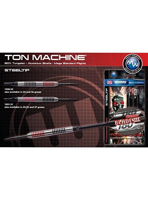 Winmau Ton Machine %80 Tungsten Çelik Uçlu Dart-26 Gram Renkli